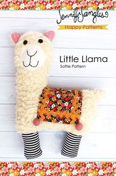Little Llama Softie Pattern