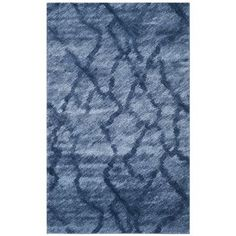 Safavieh Retro Blue/ Dark Blue Rug x The Effective Pictures We Offer You About abstract rug Dark Blue Rug, Berber, Textiles, Throw Rugs, Blue Area Rugs, Blue Rugs, Rug Size, Contemporary, Home Decor
