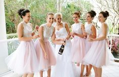Stylish & Chic Bridesmaids Trends for 2014: Skirts. Look like barbies