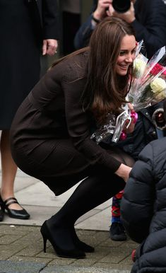 Kate Middleton Photos: The Duchess Of Cambridge Visits The Fostering Network
