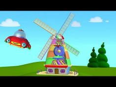 "TuTiTu - ""The toys come to life"" is a animated video series for toddlers. Through colorful shapes TuTiTu will stimulate the children's imagination and cre. Kids Videos, Baby Videos, Happy Sing, Sing Along Songs, 3d Animation, Windmill, Animated Gif, Kids Toys, Toddlers"