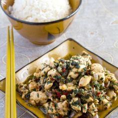 A quick stir-fry of good old Thai flavors - Thai Basil Chicken.