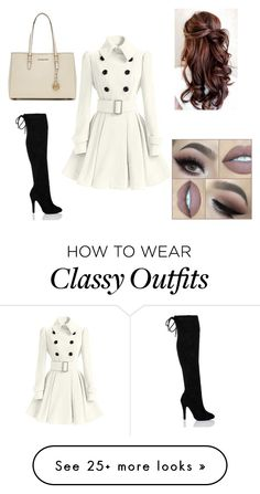 """Classy"" by manda-1998 on Polyvore featuring MICHAEL Michael Kors"