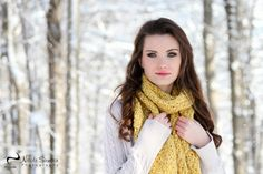 senior pictures in the snow - Google Search