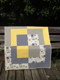 Inspiration for a quick Christmas quilt