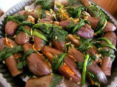Μελιτζάνες τουρσί !!! ~ ΜΑΓΕΙΡΙΚΗ ΚΑΙ ΣΥΝΤΑΓΕΣ Cooking Recipes, Healthy Recipes, Healthy Foods, Greek Recipes, Chutney, Preserves, Free Food, Pickles, Sausage