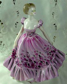 "Coalport "" Spring Song "" Figurine Ladies of Fashion 1984 1989   eBay"
