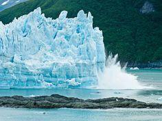 Les grondements sourds des glaciers en Alaska : Geo.fr