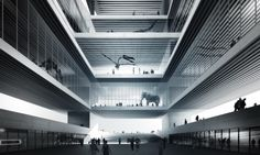 3rd Prize: Natural City Museum by COMAC