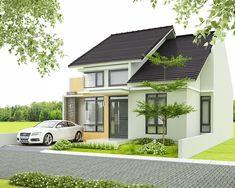 desain lengkap rumah 1 lantai tipe 90 di lahan 10×15 meter | Desain Rumah Garis