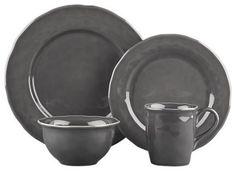 Hayes Dinnerware in gray
