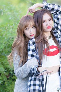 EXID - Hani #하니 & LE #엘리 Ahn 'sisters'
