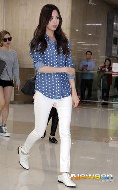 SNSD Seohyun Gimpo Airport Japan 131002