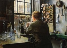 The Glass Engraver, Charles Frederic Ulrich. American (1858 - 1908)