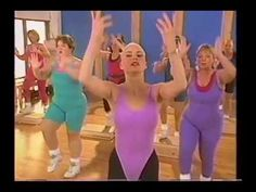 Moving with Susan Powter Step Aerobic Workout, Aerobics Workout, Retro Fitness, Step Aerobics, Get Moving, Try Again, Get Healthy, Workout Videos, Good People