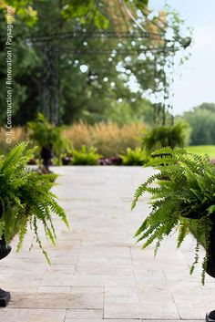 Golf - Pavé-uni - Aménagement paysager, paysagement 450 983-6661  info@jl-paysagement.com  jl-paysagement.com Info, Accounting, Sidewalk, Golf, Herbs, Lawn, Landscape Fabric, Landscape Planner, Group