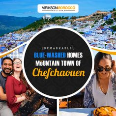 Chefchaouen- a small town located in north Morocco which is always ready to welcome the Tourists from around the World. Let's take a drive with us to one of the most artistic places in the world. Holiday Destinations, Travel Destinations, Morocco Travel, Cheap Travel, Casablanca, Winter Holidays, Small Towns, Wonderful Places, Family Travel