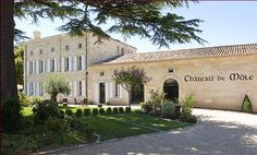 Chateau de Mole in St Emilion:  This is where we will be staying for our vacation this June!