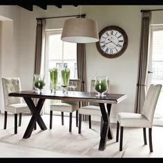 Tavolo per sala da pranzo in massello di legno di sheesham CHANDERNAGOR L 180 cm