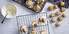 Anzac Cupcake with Anzac Biscuits via @iquitsugar