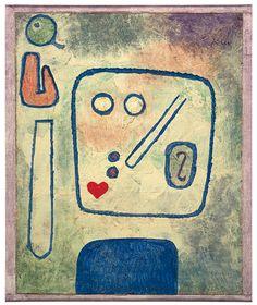 パウル・クレー『洋梨礼讃』1939年 個人蔵(スイス)、パウル・クレー・センター(ベルン)寄託 ©Zentrum Paul Klee c/o DNPartcom