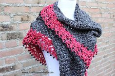 Here is the free crochet pattern for my Touch of Velvet wrap I showed you last week. It's an elegant design that is finished with a playful beaded edge. I must say that I am really happy with…