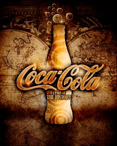 Coca Cola - The History by mademoiselle-art.deviantart.com on @deviantART