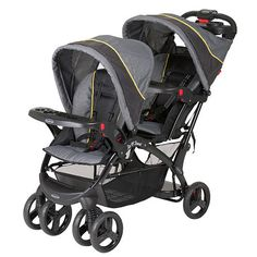 Baby Trend Eclipse Sit 'n Stand Double Stroller - Spark. This is the stroller i would like to get.