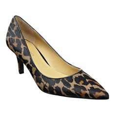Pump perfection!  Classic pointy toe pump with all leather upper on 2 3/4'' heel.  This style is available exclusively @ Nine West Stores & ninewest.com.
