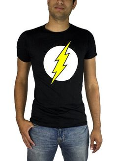 Save $10.00 on The Flash Classic Logo Men's T-shirt; only $10.00