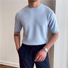 New Fashion Shirts, Suit Fashion, Fashion Outfits, Male Fashion, Stylish Mens Outfits, Casual Outfits, Men Casual, Outfits For Men, Herren Outfit