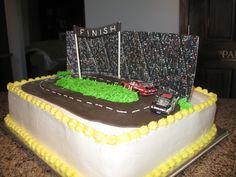 Nascar grooms cake design!
