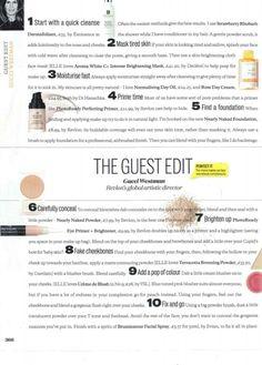 Makeup tips: Natural face
