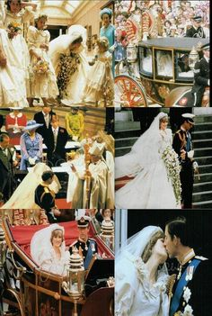 I remember this day well.skipped school that day to watch with a bunch of the girls! Charles And Diana Wedding, Princess Diana Wedding, Duke And Duchess, Duchess Of Cambridge, Global Tv, Lady Diana Spencer, Wedding Honeymoons, Prince Charles, British Royals