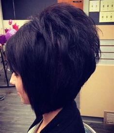 layered stacked bob haircut photos front and back - de búsqueda