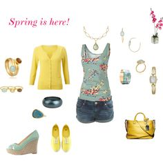 Spring is here!, created by karol-roo on Polyvore