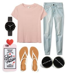 """""""Effortless Heartbreaker"""" by ares-and-aphrodite on Polyvore featuring Aéropostale, Monki and I Love Ugly"""