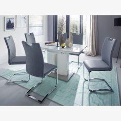 Cikkszám: TICX19GL TIA Szürkéskék szék - szánkótalpas fém lábbal. Étkező- vagy tárgyalószéket keres? A TIA szék, kényelmes kialakítású háttámlás, végén fogantyúval a könnyebb áthelyezés, illetve szállítás érdekében. PU műbőr kárpitozással. T