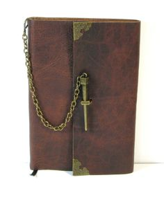 steampunk journals | Steampunk Leather Journal Medieval Style by DWEmporium on Etsy