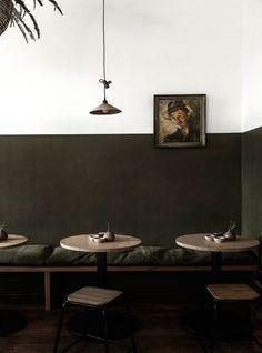Photo Collage Design, Interior Cladding, Wall Colors, Restaurant Bar, Decoration, Home Goods, Ceiling Lights, Interior Design, Studio
