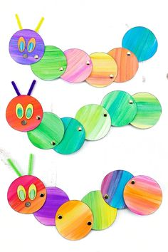 Looking for an easy and fun caterpillar craft for kids? Inspired by The Very Hungry Caterpillar, our simple caterpillar craft includes a printable template, making it perfect for home or school. Caterpillar Craft, Very Hungry Caterpillar, Diy Paper, Paper Art, Kids Inspire, Japanese Paper, Origami Art, Mother And Father, Beautiful Children