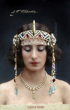 "Anna Pavlova in ""Pharao's Daughter"" Feb Ballet, History of Russia, Imperial Russia Anna Pavlova, Headdress, Headpiece, Ballerine Vintage, Ballet Russe, Russian Ballet, Russian Beauty, Imperial Russia, Dance Art"