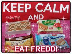 #Freddi #merendine www.freddi.it