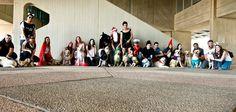Purim 2015 - Seeing eye dog puppies in training at BGU