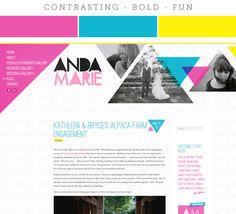 Colour Combos: Blogs