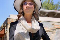 Beau Monde Organics Brand Profile in #Eco Fashion World News! luxury organic scarves