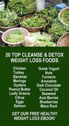 20 Top Cleanse & Detox Weight Loss Fat Burning Foods. Learn about Zija's potent Moringa based weight loss products and get our FREE eBook with suggested fitness plan, food diary, and exercise tracker. Detox, Cleanse, Increase Energy, Burn Fat, and Lose We