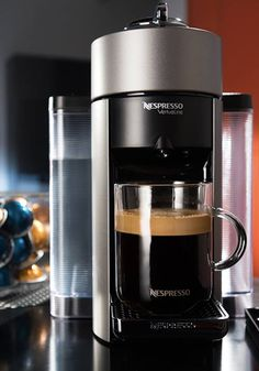 Nespresso's new Evoluo machine was designed to bring you the highest quality of freshly brewed coffee, no matter what time of the day. Treat yourself to something special today and brew a drink recipe that's a cup above Pod Coffee Makers, Coffee Company, Drip Coffee Maker, Best Espresso Machine, Company Gifts, Specials Today, Single Serve Coffee, Starbucks