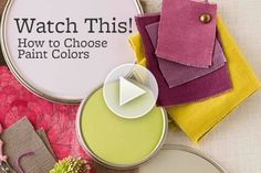 Do you have trouble choosing paint colors? Get great tips from our Guide to Painting video: http://www.bhg.com/videos/m/44397180/your-guide-to-painting-choosing-color.htm