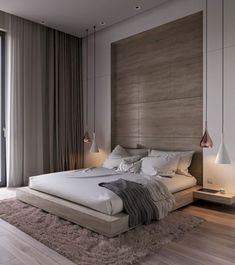 Modern Bedroom Ideas - Seeking the most effective bedroom design ideas? Use these stunning modern bedroom ideas as inspiration for your own fantastic designing system . Modern Master Bedroom, Modern Bedroom Design, Master Bedroom Design, Trendy Bedroom, Luxury Interior Design, Minimalist Bedroom, Contemporary Bedroom, Home Decor Bedroom, Bedroom Ideas